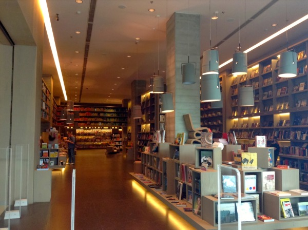 Books. I've always loved reading. This is a giant bookstore that T and I stumbled upon in Rio de Janeiro.