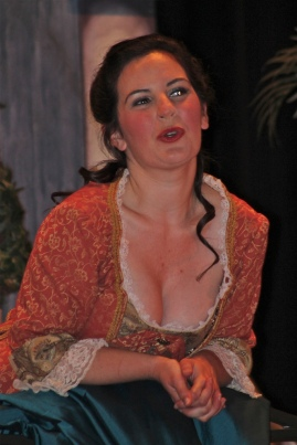 "Me as Susanna in ""The Marriage of Figaro"" in grad school."