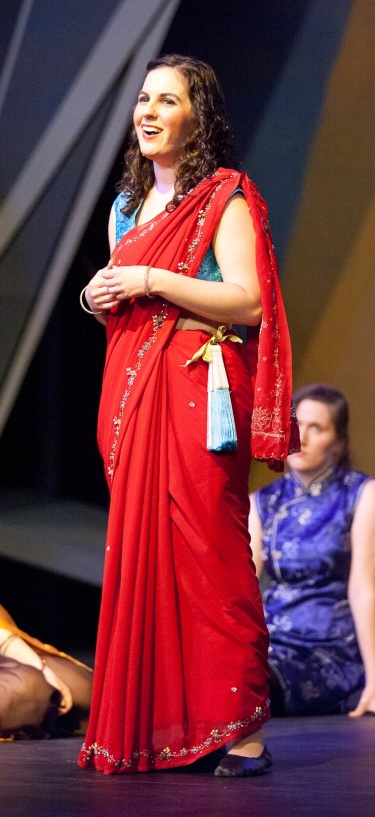 Mabel in The Pirates of Penzance. This production was themed after the TV show Firefly, so my character is modeled after Inara Serra.
