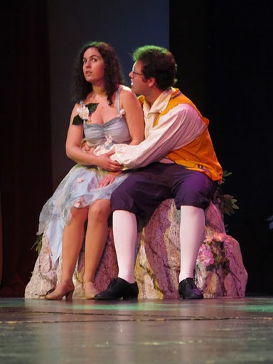 The title role in Iolanthe.