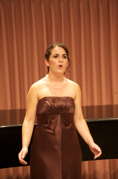 My college senior recital.