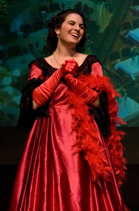Ida in Die Fledermaus, my junior year of college and my first-ever opera role.