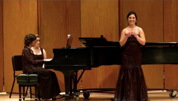 My graduate recital in 2013.