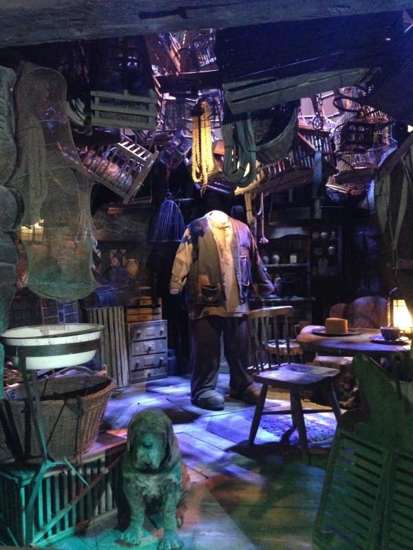 Hagrid's hut.