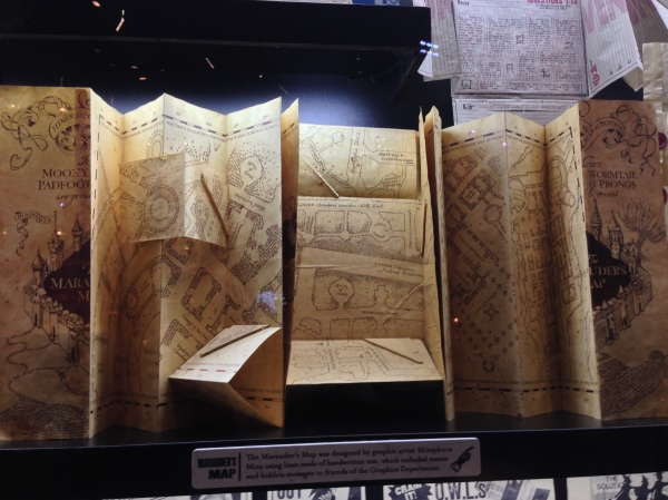 The Marauder's Map.