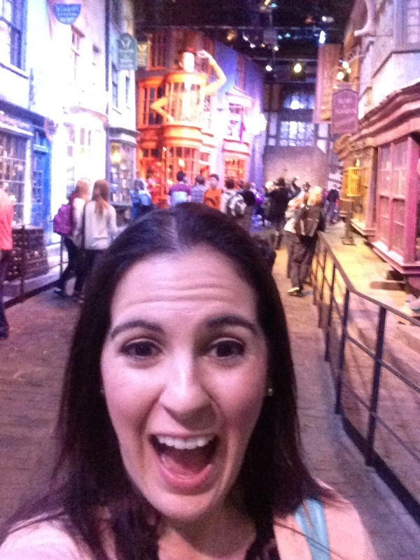 I'm in Diagon Alley!