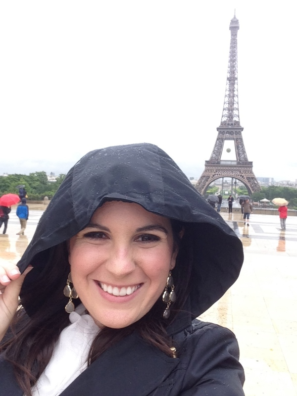 Me in front of the Eiffel Tower (obviously) earlier this summer. One more country checked off the bucket list!