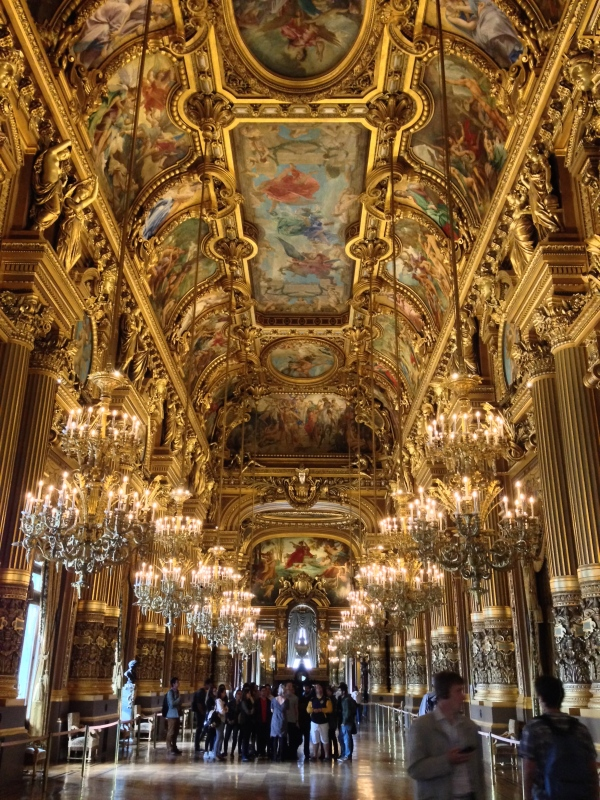 The Grand Ballroom, or Great Foyer, or something like that. I call it the Gold Room, for obvious reasons.
