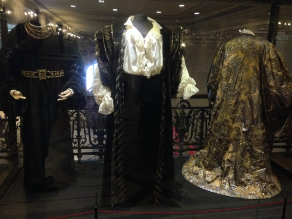 A costume made especially for and worn by Luciano Pavarotti.