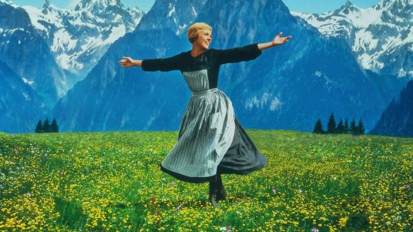 Yes, fine, this is from the movie, not the stage version. But no one is more iconic than Julie Andrews. Via